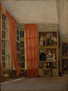 The Long Gallery at Hardwick by David Cox