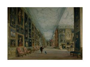 The Long Gallery, Hardwick by David Cox