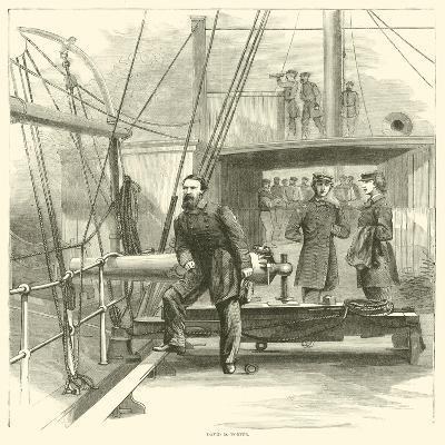 David D Porter, January 1865--Giclee Print