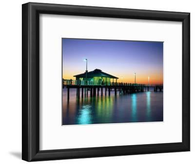 Fishing Pier at Sunrise, Fort de Soto Park, FL