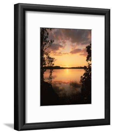 Sunset at Paurotis Pond, Everglades National Park, FL