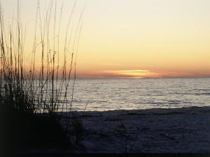 Sunset on Sanibel Island, Gulf Coast of FL by David Davis