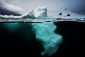 An Iceberg Off the Antarctic Peninsula by David Doubilet