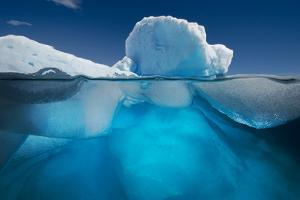 An Iceberg Off the Coast of the Antarctic Peninsula by David Doubilet