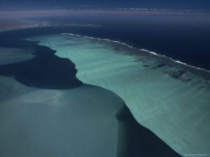 Indian Ocean Surf Breaks on Ningaloo Reef, Australia by David Doubilet