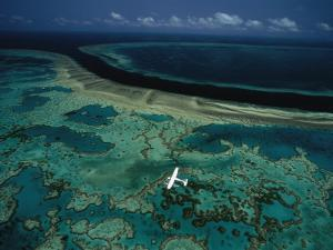 The More Than 1,250 Mile Long Great Barrier Reef Along Australia by David Doubilet