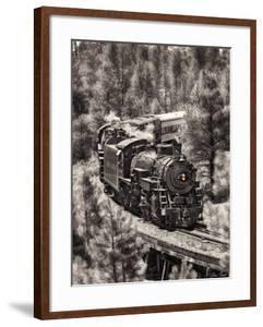 Train Arrival III by David Drost