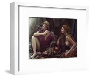 Farmgirls by David Dubnitskiy