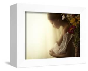Girl in Morning Dressing by David Dubnitskiy