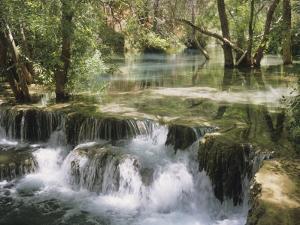 Havasu Creek Travertine Pools by David Edwards