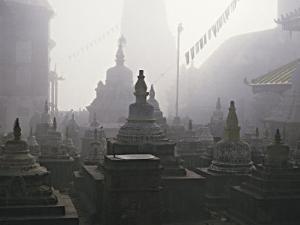 Katmandu Temple,Nepal by David Edwards
