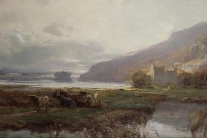 Kilchurn Castle, Lock Awe, 1879 by David Farquharson