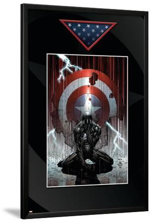 Fallen Son: The Death Of Captain America No.4 Cover: Spider-Man Charging