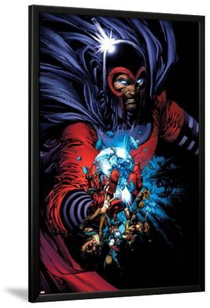 March On Ultimatum Saga Cover: Magneto