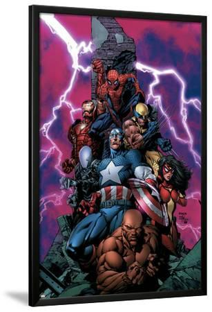 New Avengers No.1 Cover: Spider-Man