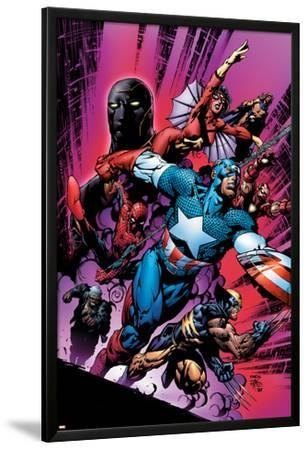 New Avengers No.12 Cover: Captain America