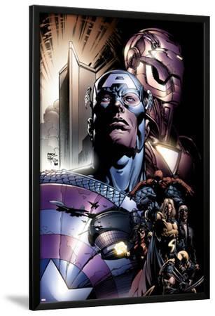 New Avengers No.6 Cover: Captain America