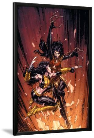 New X-Men No.45 Cover: X-23 and Lady Deathstrike