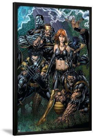 Ultimatum No.5 Cover: Grey, Jean, Beast, Wolverine, Cyclops, Colossus, Storm and Nightcrawler