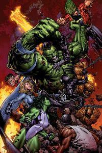 World War Hulk No.2 Cover: Hulk by David Finch