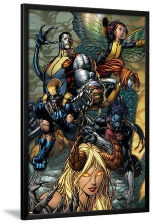X-Infernus No.2 Cover: Darkchylde, Colossus, Wolverine, Nightcrawler, Pixie and Mercury