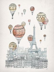 Voyages Over Paris by David Fleck