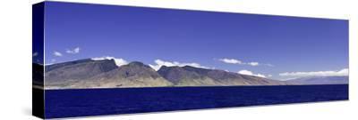 Panorama of the Entire Island of Maui Molokini