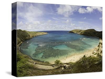 The Hanauma Bay Nature Preserve Is Coastal and Marine Preserve Located on Southeast Oahu