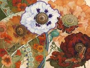 Floral Tapestry by David Galchutt