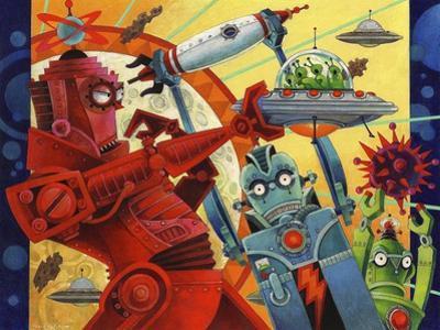 Robotic Uprising by David Galchutt