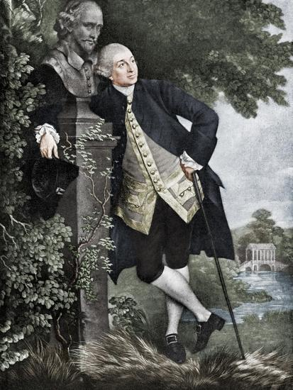 David Garrick (1717-1779), English actor, playwright, theatre manager and producer, 1905-Unknown-Giclee Print
