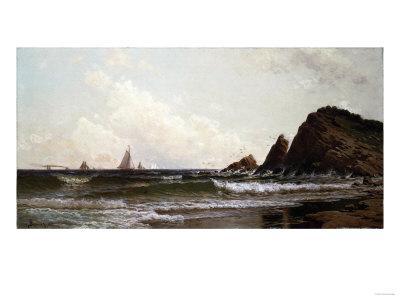 Cliffs at Cape Elizabeth, Portland Harbor, Maine, 1882