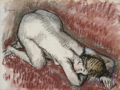 Naked Woman Kneeling, Circa 1889-1895