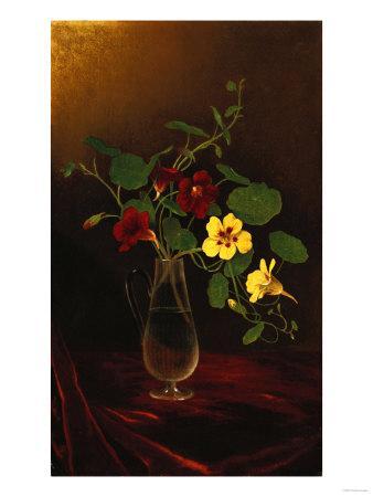 Nasturtiums in a Vase, Circa 1865-1875