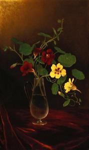 Nasturtiums in a Vase, Circa 1865-1875 by David Gilmour Blythe