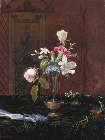 Vase of Mixed Flowers, Circa 1865-1875
