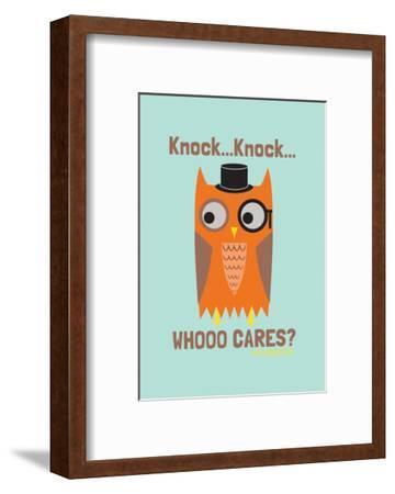 Whoo Cares - David & Goliath Print