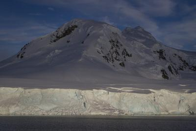 Glacier and Mountain on Cuverville Island