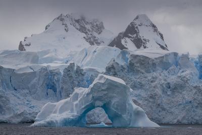 Iceberg, Glacier and Mountains in Cierva Cover