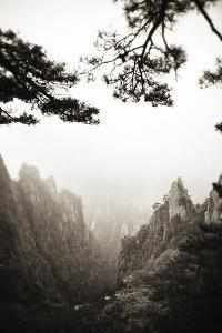 Yellow Mountain, Huangshan, China by David H. Collier