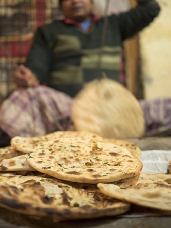 Freshly Baked Tandoori Roti in Amritsar, Punjab, India