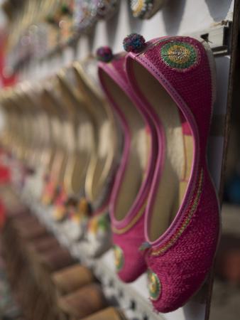 Shoe Shop in Amritsar, Punjab, India