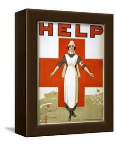 Red Cross Poster, C1917 by David Henry Souter