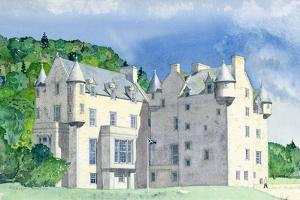 Castle Menzies, 1995 by David Herbert