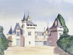 Chateau a Fontaine, 1995 by David Herbert