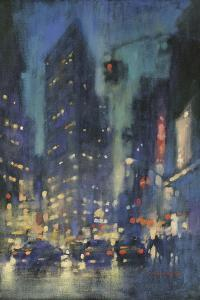 Red Light on Broadway by David Hinchliffe