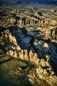 Aerial View of Chesler Park in the Needles District by David Hiser