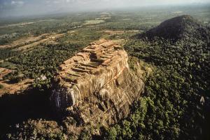 Aerial View of Sigiriya, a 5th Century Rock Fortress, Sri Lanka by David Hiser