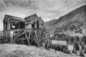 The Abandoned Champion Mill, At 10,800' On Halfmoon Creek by David Hiser