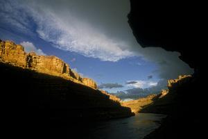 View Downstream of the Green River in Canyonlands National Park by David Hiser